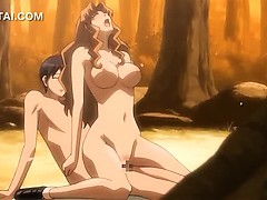 hentai-girl-hard-fucking-her-lover-in-the-woods