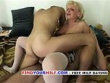 Old Horny Slut Seduces IT Nerds