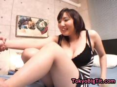 Busty japanese slut gets pussy jizzed part6