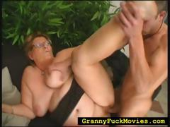 Granny Rolled Over To Get Fucked