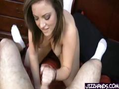 Cute Teen Pumps Cock