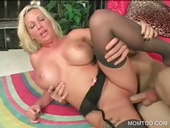 sinful-mommy-gets-pussy-hammered
