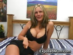 Hot mum with huge juggs sucks stiff rod part3