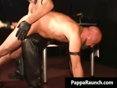 Horny nasty kinky gay guy gets tied part1