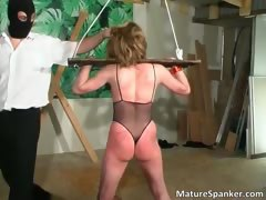 Hot Nasty Big Boobed Milf Slut Gets Tied Part1