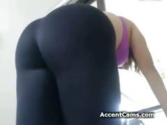 girl-in-yoga-pants-stripping