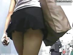 Perfect Mini-skirts Upskirt View
