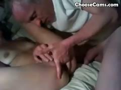 grandpa-giving-grandma-oral